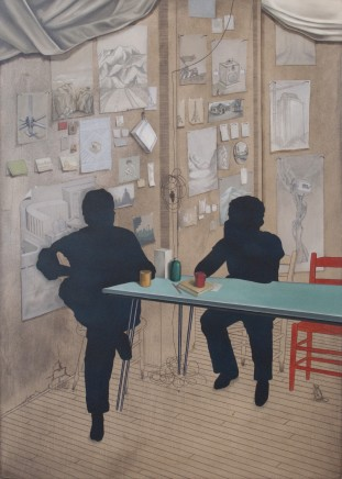 Chris Agnew, In Conversation, 2013