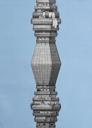 Chris Agnew, Ba Da, Dodă (Water Tower), 2016
