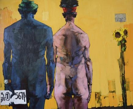 Dawit Abebe, No 2. Background 41, 2016