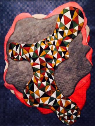 Soheila Sokhanvari, Love Me Do (Self Portrait 1989), 2015