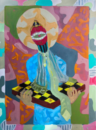 Gresham Tapiwa Nyaude, Saint Pragmatist,, 2018
