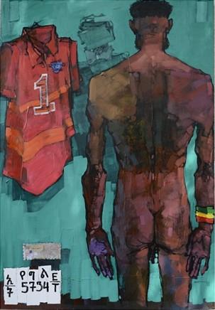 Dawit Abebe, No 2. Background 33, 2015