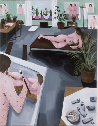 Audun Alvestad, The muse, 2018