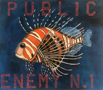 Celina Teague, Public Enemy, 2018