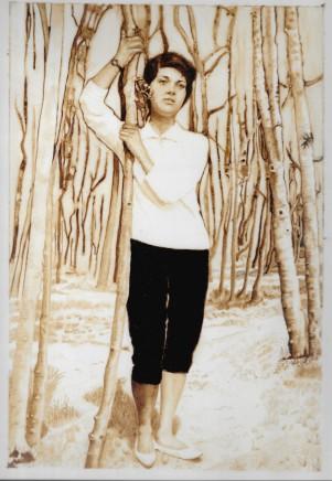 Soheila Sokhanvari, Woman In The Woods II, 2015