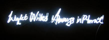 Anne Katrine Senstad, Light Writes Always in Plural, 2008
