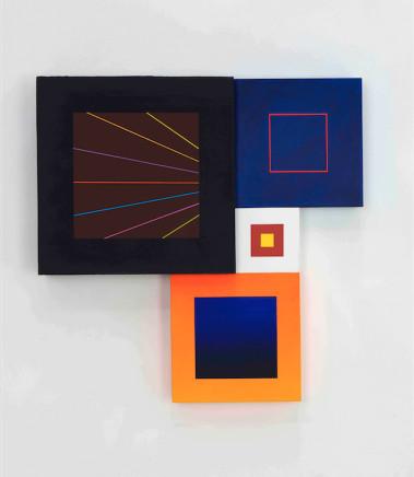 Richard Schur, Spatial object (V), 2018