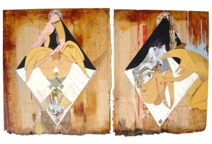 Monica Canilao, Swan Children 1 and Swan Children 2, 2009