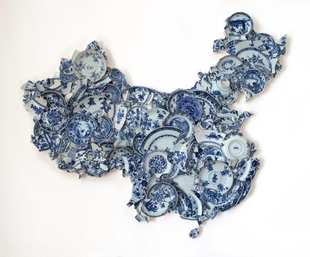 Bouke de Vries, Map of china of China, 2017