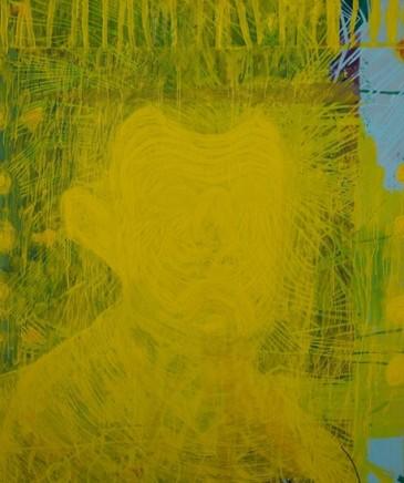 Markus Brendmoe, Self-Portrait with a Cigarette, 2011