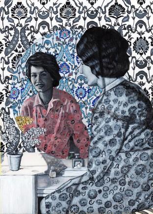 Soheila Sokhanvari, Women In The Mirror, 2017