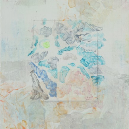 Hiroshi Tachibana, Photograph (Kahna and Spirit) and Palette (Trace), 2015