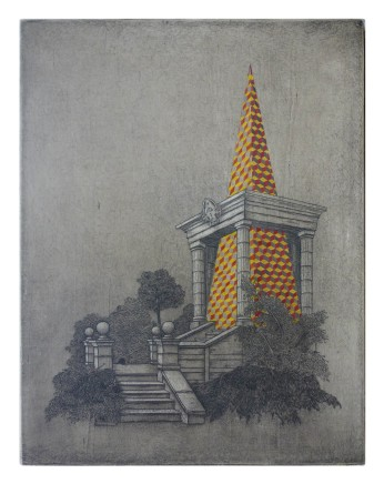 Chris Agnew, Bowing to the Storm (Summer House), 2012