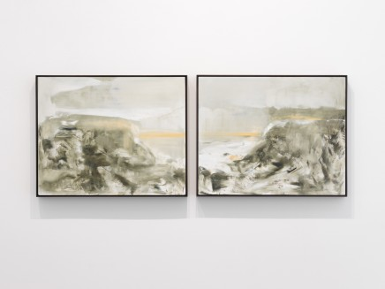 Richard Stone, within a distance (diptych), 2014