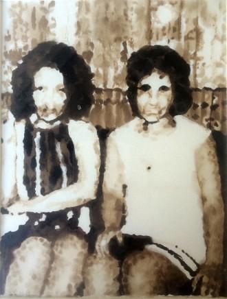 Soheila Sokhanvari, Two Women, 2015