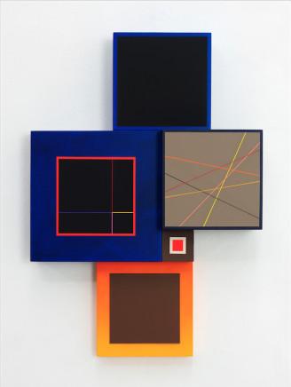 Richard Schur, Spatial object (VI), 2018
