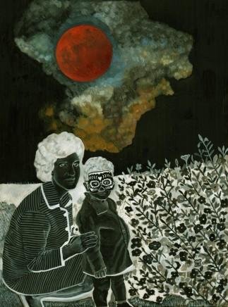 Soheila Sokhanvari, Blood Red Moon, 2018