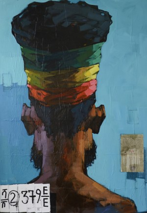 Dawit Abebe, No 2. Background 35, 2016
