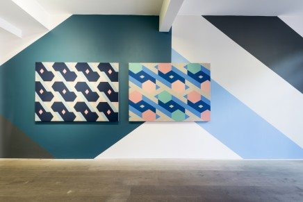 Sinta Tantra, On Being Blue, A Philosophical Enquiry: Mural No.2, 2015