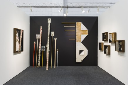 Fernando Otero, Gathered Territories NADA NY installation view, 2016