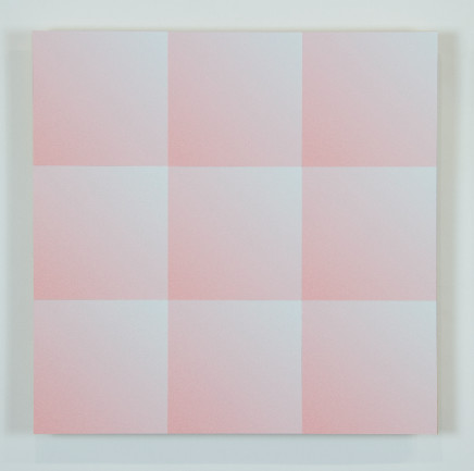 James Hillman, Panel, Broccato (Rose), 2019