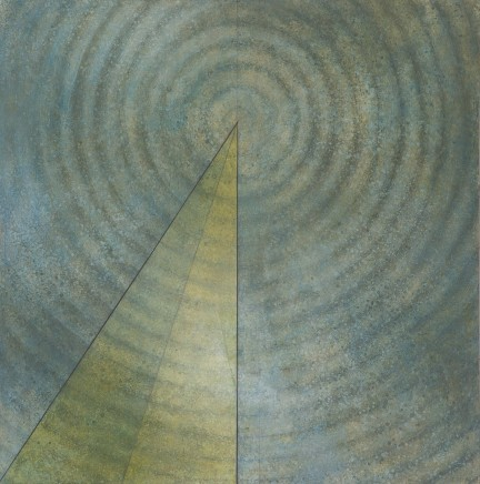 Fernando Otero, Yellow triangle, 2014