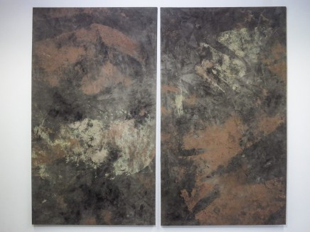 Ruben Brulat, Earth paintings, 2015