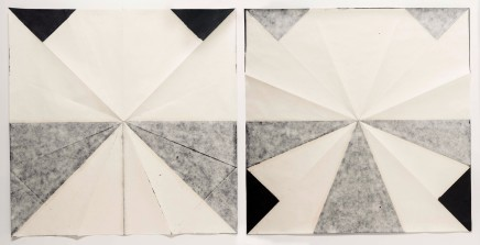 Carla Chaim, Untitled (fold13), 2014