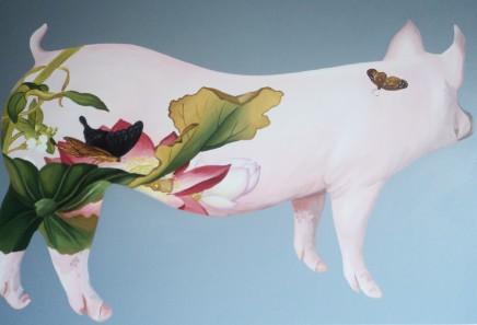 Huang Yan 黃岩, Pig.Flower, 2012
