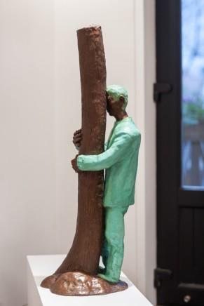 Zhang Ning 張寧, Hugging the Tree, 2012