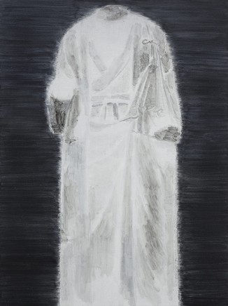 Shi Zhiying 石至瑩, White Marble Figure of Buddha No.7, 2014