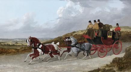 John Frederick Herring, Snr, The Edinburgh to London Royal Mail coach, 1838