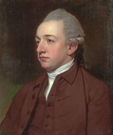 George Romney, Portrait of Henry Dormer Vincent of Stoke D'Abernon and Lily Hill House