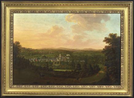 William Tomkins, A panoramic prospect of Plympton, Devon