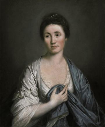 Francis Cotes, Portrait of Martha Seymer as Modesty