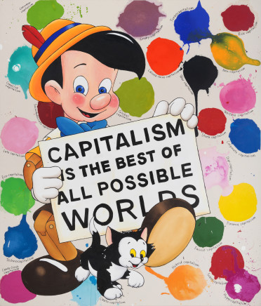 Riiko Sakkinen, Capitalism is the Best of All Possible Worlds, 2017
