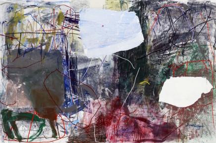 Ina Gerken, Untitled (Blank Spots 7), 2018