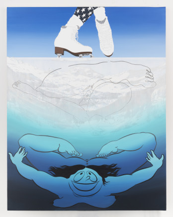 Ebecho Muslimova, FATEBE THIN ICE SKATING, 2018