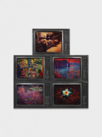 Rico Weber, Hommage a Claude Monet, 1994