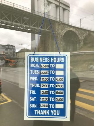 Ramaya Tegegne, Business Hours , 2018