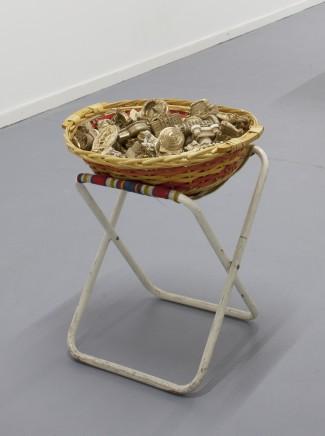 Mitchell Anderson, Golden monument piece, 2015