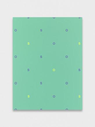 Nick Oberthaler, Untitled (SOSOSO), 2018