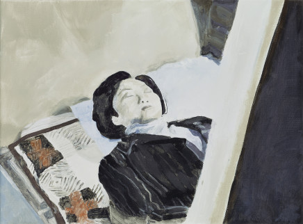 Halley Cheng 鄭哈雷, Woman in the Coffin 棺材裡的女人, 2017