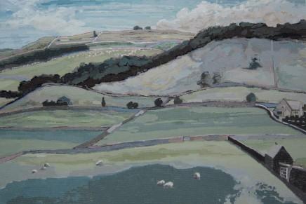 Wong, Stephen Chun Hei 黃進曦, Hill in Yorkshire Dales 英國約克山景, 2011