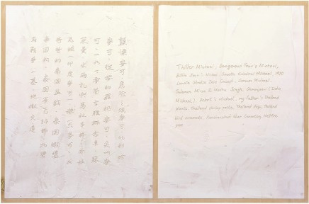 Halley Cheng 鄭哈雷, The List of Michael and Thailand Plants, 2013