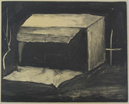 ZHANG Lei 张雷, Carton Box in the Dark 黑夜里的纸箱子, 2013