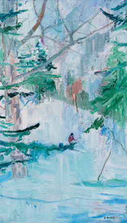 ZHANG Jian 章剑, Skiing 滑雪, 2016