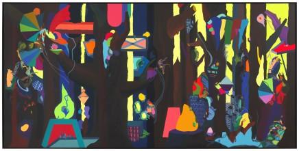 Franz ACKERMANN 艾稞曼, Wild Forest 狂野森林, 2012