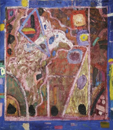 Gillian AYRES 吉莲·艾尔斯, Where the Cymbals of the Rhea Played 瑞亚之钹奏响的地方, 1986-1987