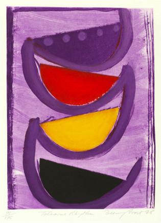 Sir Terry Frost RA, Tolcarne Rhythm (Kemp 184), 1998